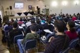 Diego Rojas palestrando no WCSP 2013 \o/