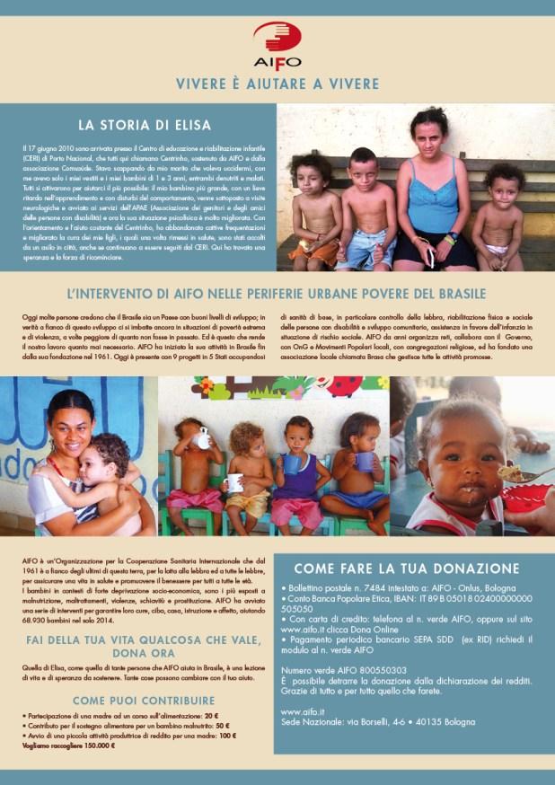 AIFO Campanha Infância Brasil 2015 - curto
