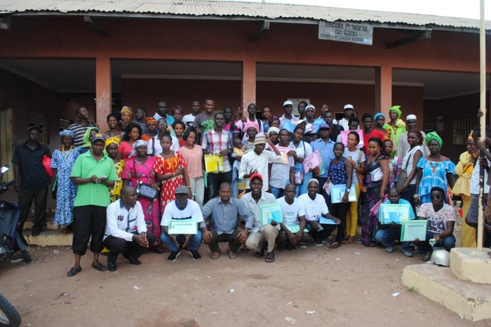 Dia Mundial Hanseníase 2018 – AIFO na Guiné-Bissau – Dr. Martinho Nhanca