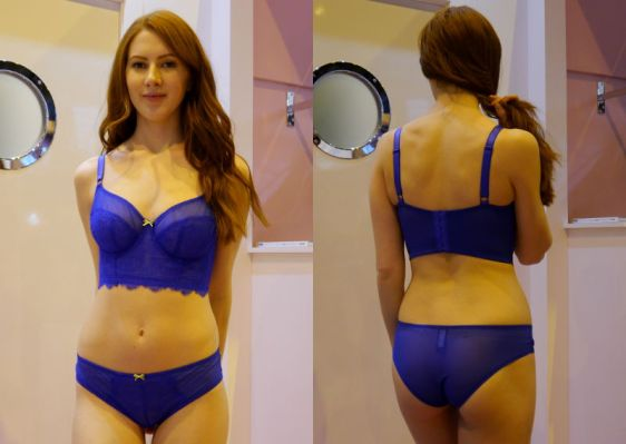 Cleo Piper in Cobalt Set (Cleo AW16)