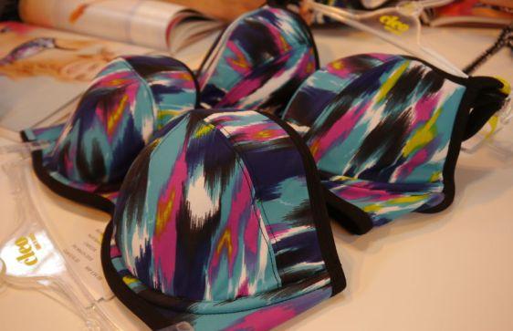 Cleo Swim Avril Balconette and Bandeau Bikini Abstract Print
