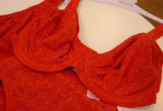 Elomi Swim Kissmmee Underwired Bikini in Red (Elomi Swim AW16)