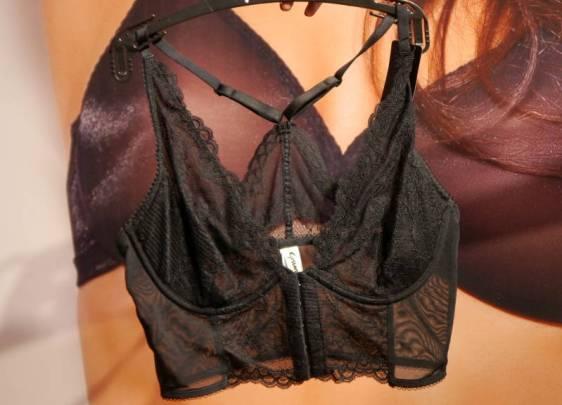 Gossard Superboost Lace Deep V Bralet Black