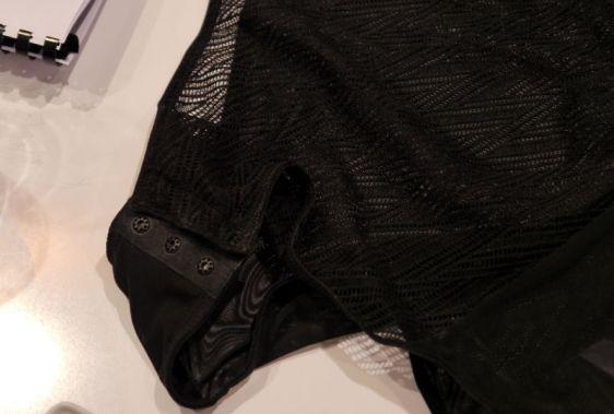 Lepel London Chelsea Geo Body Detailing in Black (Lepel London AW16)