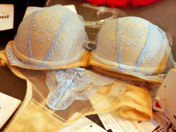 Lepel London Tiff Underwired Bra Powder Blue Blush