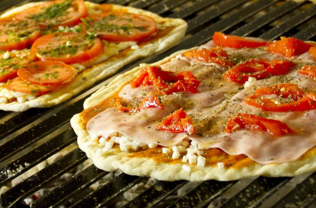 la mejor pizzas a la parrilla