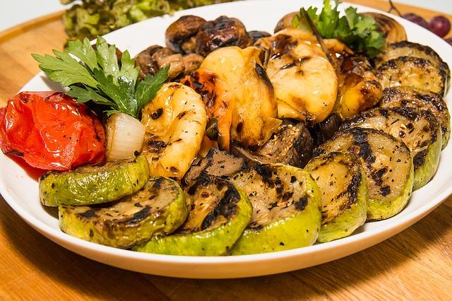 las mejores verduras para acompañar barbacoa a domicilio