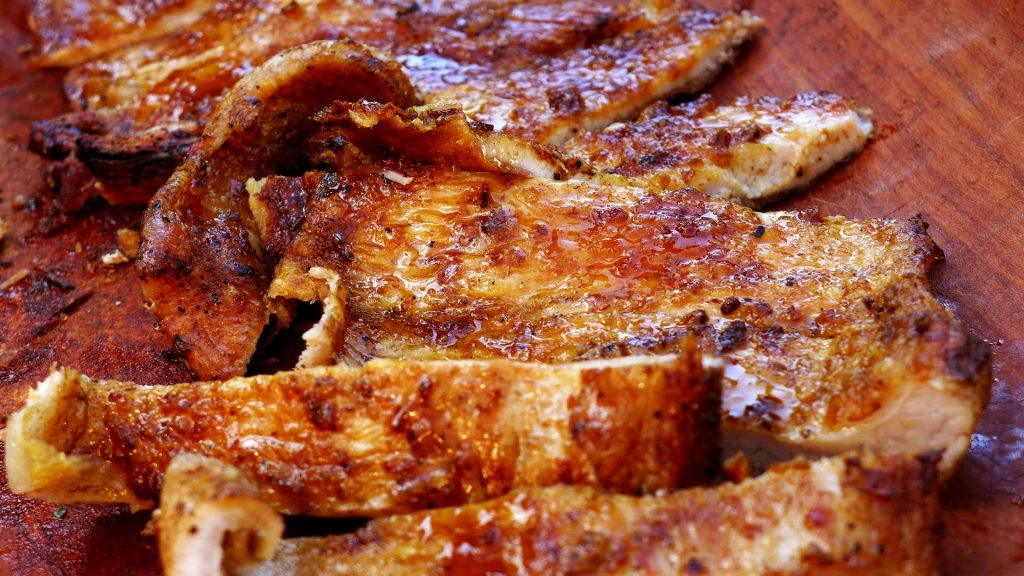 matambre de cerdo a la parrilla, servicio de catering domicilio madrid