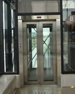 Stainless Steel Elevator Surround Cladding