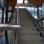 Closeup of Staircase Railing
