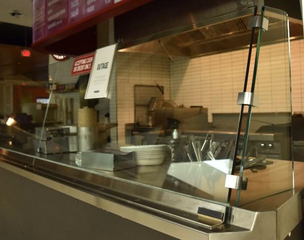 Sneeze Guards & Cafeteria Rail Brackets