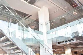 Glass Staircase & Mezzanine