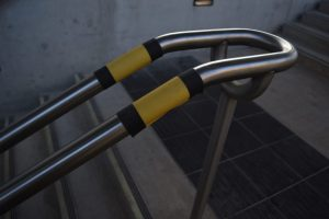 Closeup of Handrail