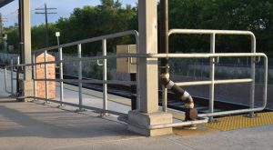 Galvanized Steel Mini Platform Railing