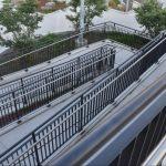 Birds-Eye View of Ramp Railings