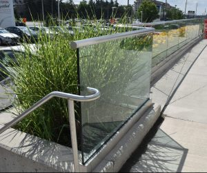 Outdoor Glass Guardrails
