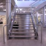 Glass Guardrails w/ Stainless Steel Handrails