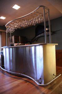 Stainless Steel Bar w/ Stemware System