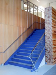 Glass Guards w/ Stainless Steel Handrails