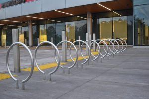 Stainless Steel Circular Bicycle Racks