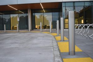 Stainless Steel Bollards & Bicycle Racks