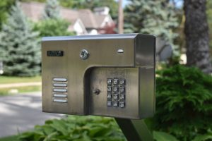 Stainless Steel Cladded Intercom Box