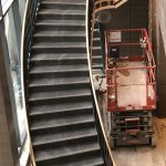 Brass Oil Rubbed Staircase