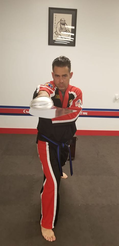 Training With Martial Arts Weapons at Choe's HapKiDo Flowery Branch!