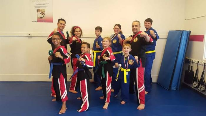 Belt Promotion Day at Choe's HapKiDo Flowery Branch Georgia