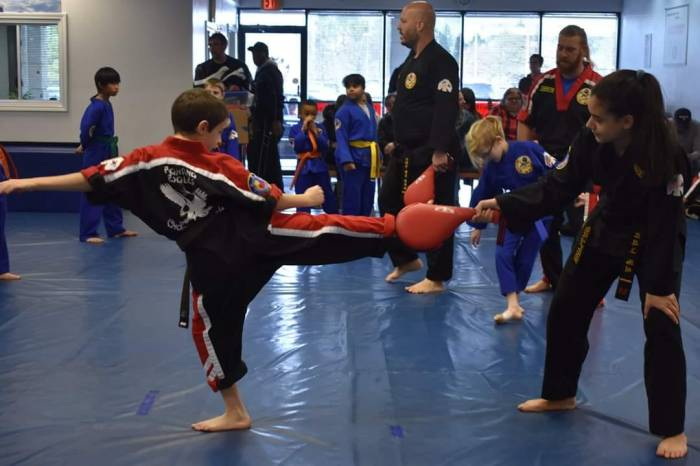 Kids Martial Arts in Choe's HapKiDo Flowery Branch