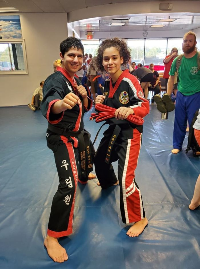Instructor Hudson Rivera at Choe's HapKiDo Flowery Branch