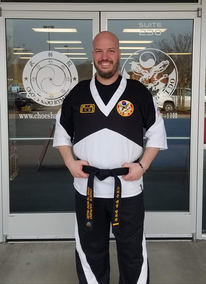 Instructor Stephen Mallory at Choe's HapKiDo Flowery Branch
