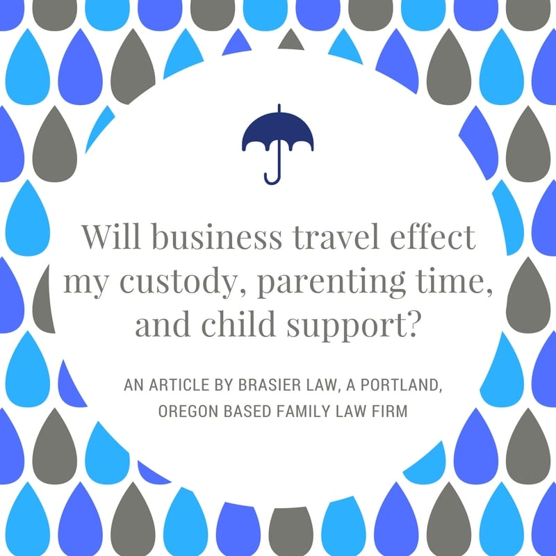 How Will Traveling for Work Effect Custody