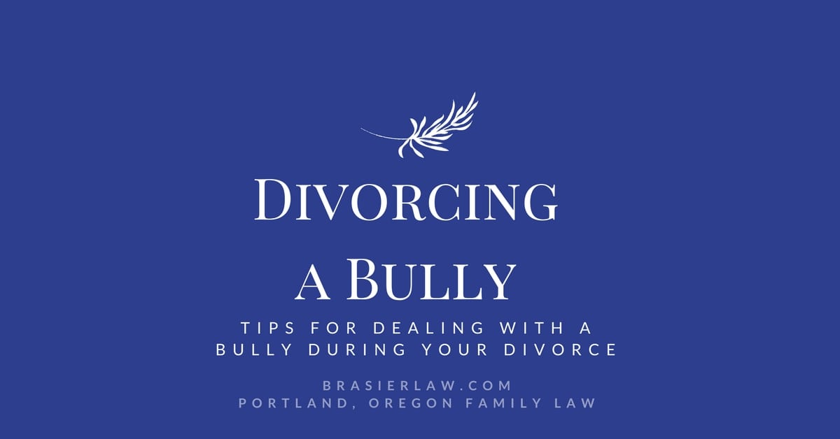 Tips for Dealing With an Ex Who is a Bully During Divorce