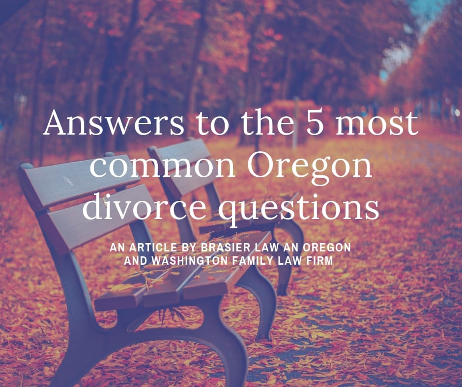 Answers to the 5 Most Asked Divorce Questions