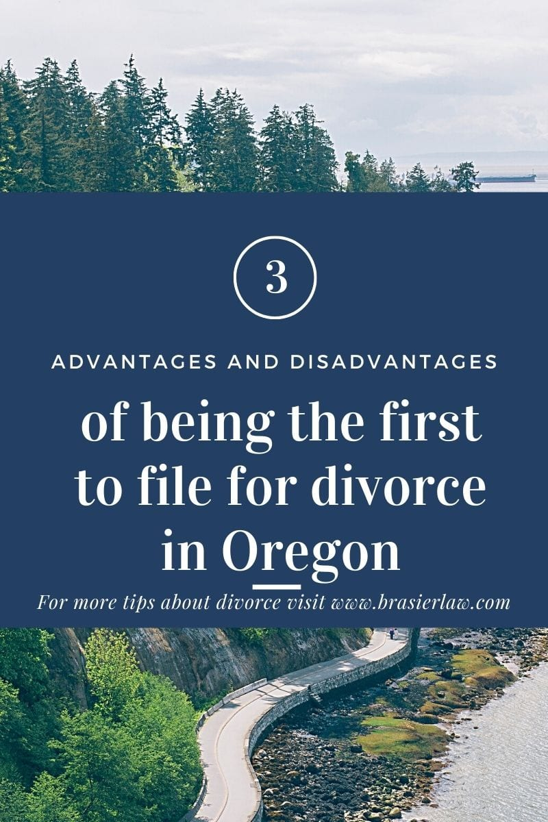 3 Advantages and Disadvantages of Filing for Divorce First
