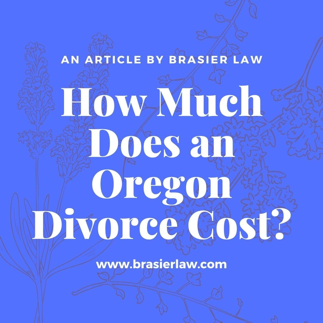 How Much Does an Oregon Divorce Cost?