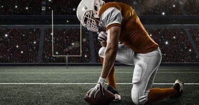 jogador de football americano on 5-yard-line