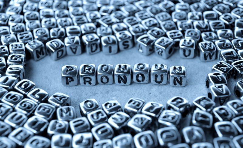 pronouns - os pronomes em inglês