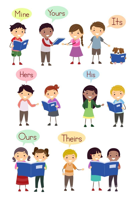 Pronomes possessivos em inglês