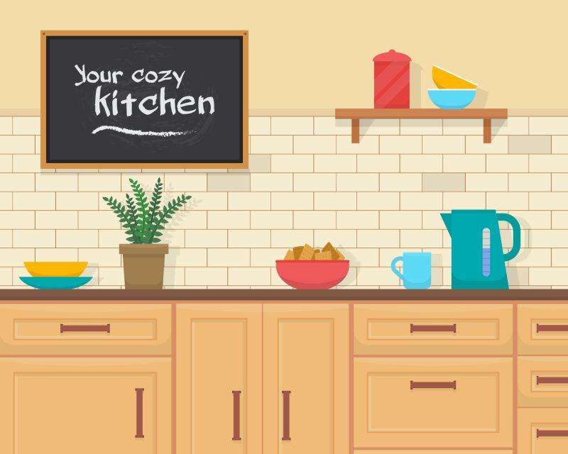 kitchen - partes da casa em ingles - aprender com cambly.