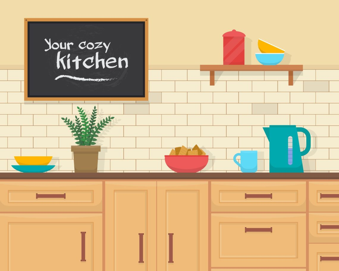 kitchen - las partes de la casa en inglés con Cambly