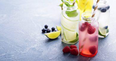 diferentes tipos de sabores de sucos em inglês