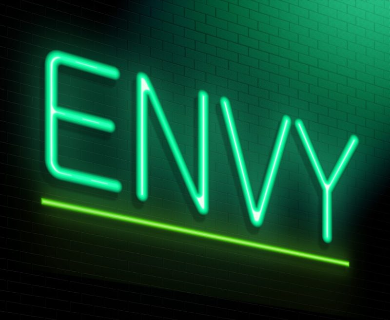 color-idioms-green-envy