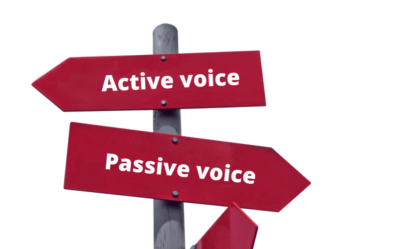 passive voice active voice cambly ingles