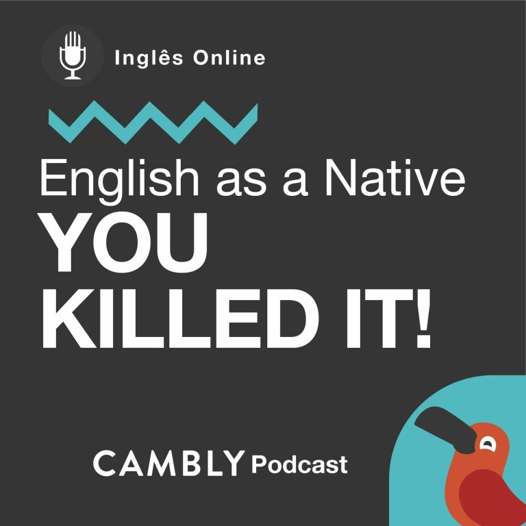 Ep169. You killed it! | English as a Native