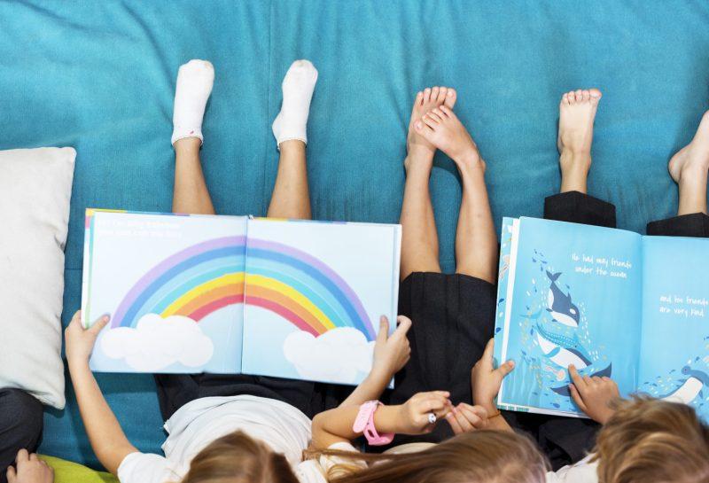 Histórias infantis em inglês para ler com as crianças