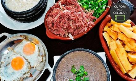 Prato tipico mineiro em almoço ou jantar para 2 pessoas no Restaurante União de Minas   Santo Amaro
