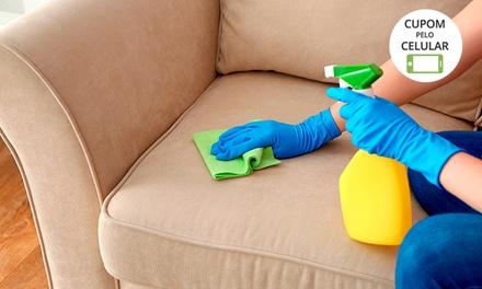 Lavagem e higienização de sofá com a Clean Clear
