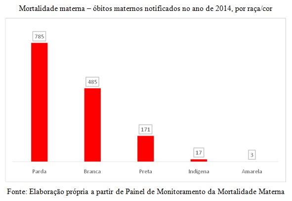 grafico mortalidade materna